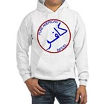 Red White Blue Pure Infidel Hooded Sweatshirt