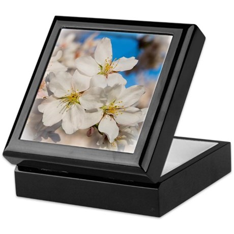 Spring Blossom Keepsake Box