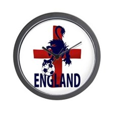 England soccer football Wall Clock