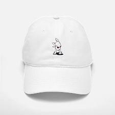 Curious Bull Terrier Baseball Baseball Cap