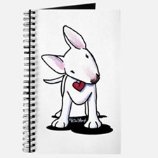 Curious Bull Terrier Journal