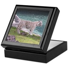 White Tiger Keepsake Box