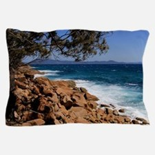 Rocky coast near South West Rocks, Aus Pillow Case