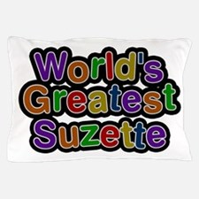 World's Greatest Suzette Pillow Case