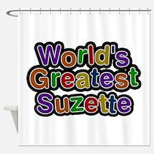 World's Greatest Suzette Shower Curtain