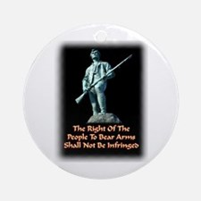Right To Keep and Bear Arms, Ornament (Round)