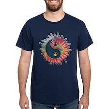 Tie-Dye Yin-Yang T-Shirt