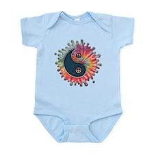 Tie-Dye Yin-Yang Infant Bodysuit