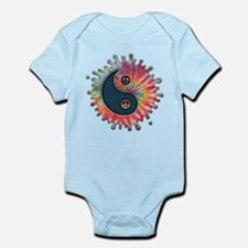 Tie-Dye Yin-Yang Infant Bodysuit