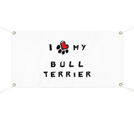 I *heart* My Bull Terrier Banner