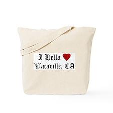Hella Love Vacaville Tote Bag
