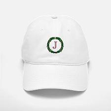 "Oak Wreath ""J"" Baseball Baseball Cap"