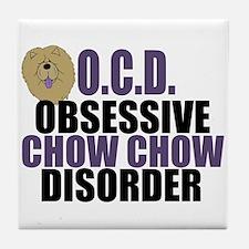 Funny Chow Tile Coaster