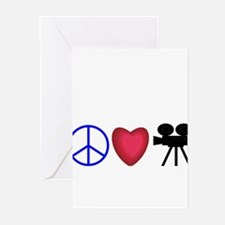 Movie Lover Greeting Cards (Pk of 10)
