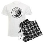 Give Them A Quarter Men's Light Pajamas