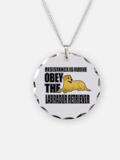 Labrador Retriever Necklace