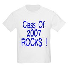 2007 blue Kids T-Shirt