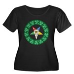 For the Irish Mason/OES Membe Women's Plus Size Sc
