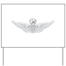 Master Aviator Yard Sign