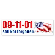 09-11-01 Still Not Forgotten Bumper Sticker
