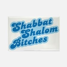 Shalom Bitches Rectangle Magnet