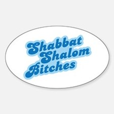 Shalom Bitches Decal