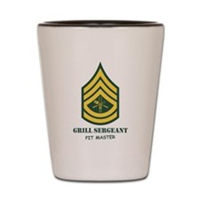 Grill Sgt. Shot Glass