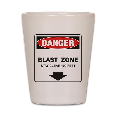 Danger Blast Shot Glass