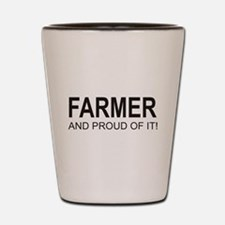 The Proud Farmer Shot Glass