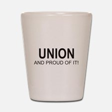 Proud Union Shot Glass