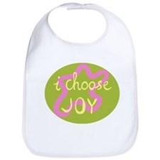 I Choose Joy - Pink Bib