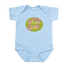 I Choose Joy - Pink Infant Bodysuit