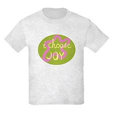 I Choose Joy - Pink T-Shirt