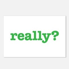 Really? Postcards (Package of 8)