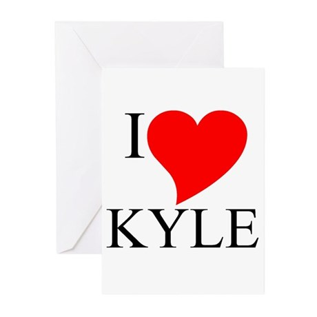 Kyle Greeting Cards (Pk of 10)