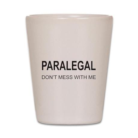 Paralegal Shot Glass