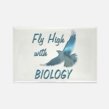 Fly with Biology Rectangle Magnet