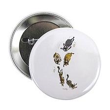 "Cool Brindle french bulldog 2.25"" Button"