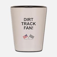 Dirt Track Fan Shot Glass