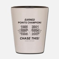 EARNED Points Champion Shot Glass