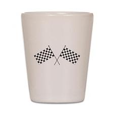 Checkered Flag Shot Glass