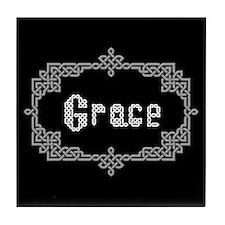 """""""Celtic Knots Grace"""" Tile Coaster"""