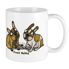 Cute French bulldog pied Mug