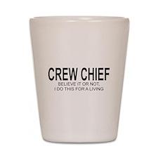 Crew Chief Shot Glass