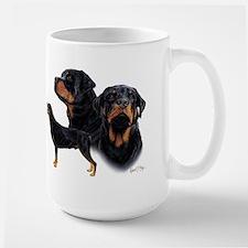 Rottweiler Large Mug