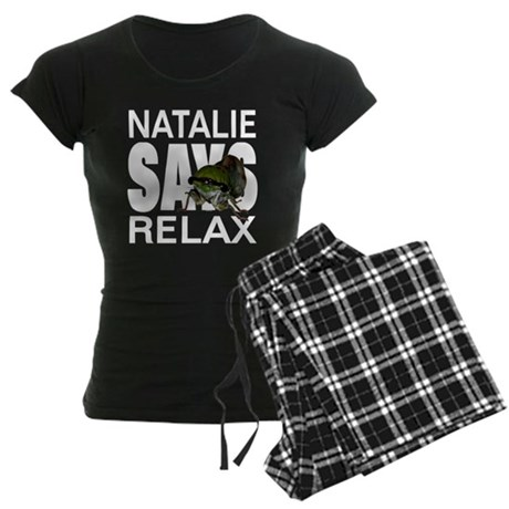 Natalie Says Relax Women's Dark Pajamas