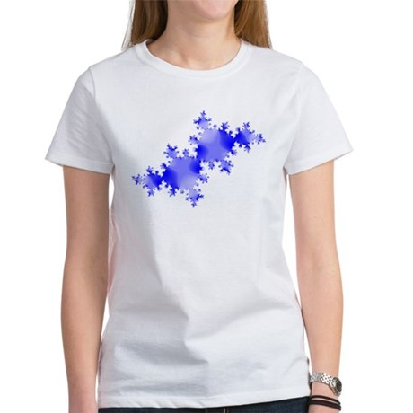 Julia Set Fractal (white) T-Shirt