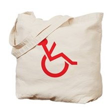 Handicapped My Ass! Tote Bag