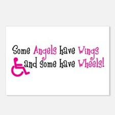 Some Angels have Wheels Postcards (Package of 8)
