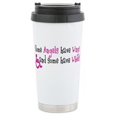 Some Angels have Wheels Thermos Mug